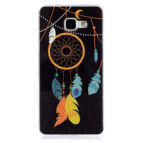 Coque Galaxy A5 2016 Luminous,Transparent Coque pour Samsung Galaxy A5,Ekakashop Ultra Slim-fit Noctilucent avec Motif Hibou Coque de Protection en Soft TPU Silicone Crystal Clair Souple Gel Housse Pr Campanula Luminous