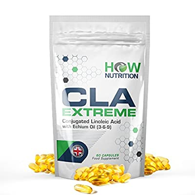 HOW Nutrition CLA - Fat Burner Diet Pills for Men and Women - 1 Month Supply