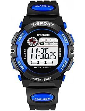 Children 's watch wasserdicht luminous multi - functional sports electronic-G