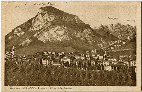 1932 Calolzio Corte - Panorama Calolzio Corte visto usato  Spedito ovunque in Italia
