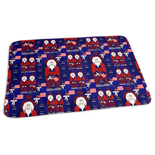 Smiling Sam The USA Man Collection Baby Portable Reusable Changing Pad Mat 19.7x27.5 inch