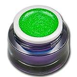 Premium Neon Glitter UV Gel Grün 5ml Farbgel RM Beautynails