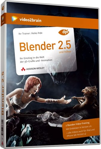 Blender 2.5 - Videotraining (PC+MAC+Linux)