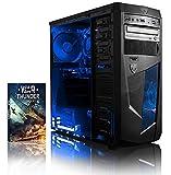Vibox Precision 6 Unité centrale Néon Bleu (AMD Athlon 64 fx, 8 Go de RAM, 1 To, Nvidia GeForce GT 730)
