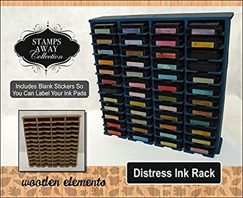 Stamps Away - Ink Rack (Holds 48 Tim Holtz Distress Ink Pads)