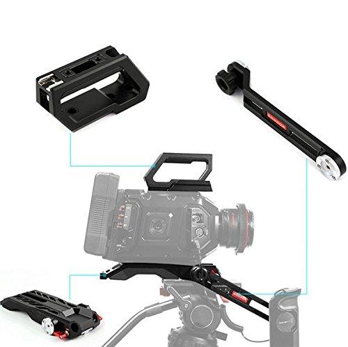 Preisvergleich Produktbild Gowe Kamera Schulter Rig Kit für Blackmagic Ursa Mini 4K 4.6K Digital Film Kamera und für Ursa Sucher