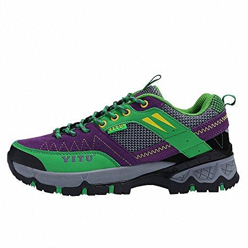 Ben Sports Calzature da escursionismo Scarpe da escursionismo Stivali da escursionismo da donna Uomo Viola