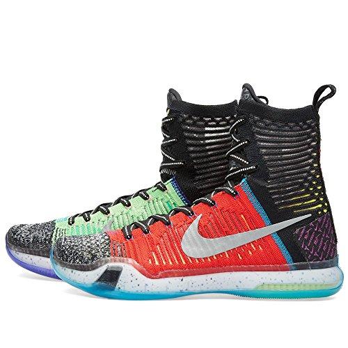 Multi Schwarz Color Basketballschuhe Blau Herren Rot Kobe Reflektieren Silber Se Nike Elite X Lime xCFYwxvqg