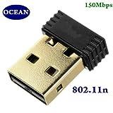Ocean 150mbps 802.11n USB Wireless Nano ...