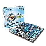 ASUS P5G41C-M LX Mainboard (Sockel 775, Intel G41 Express, DDR2 Speicher, ATX)