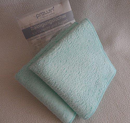 proWin Reinigungstücher für Gesicht & Augen 2er Box