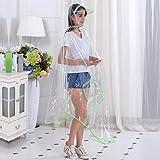 Regenmantel Mode transparent EVA Elektro Auto / Fahrrad / Motorrad langlebig großen Hut Verdickung Mode Outdoor Poncho , 4