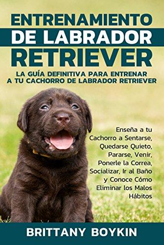 Entrenamiento de Labrador Retriever: La Guía Definitiva para Entrenar a tu Cachorro de Labrador Retriever (Spanish Version) (Version en Espanol) por Brittany Boykin