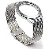 PUGO TOP Acciaio inossidabile Mesh Banda With alluminio braccialetto for Misfit Shine