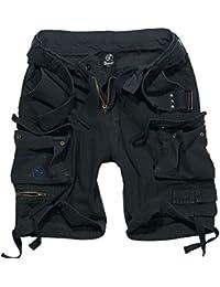Brandit Savage Vendimia Pantalones Cortos Negro tamaño M