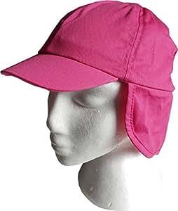 (DarkPink 18-24m) Soles Up Front Childs Australian Style Legionnaires Sun Hat