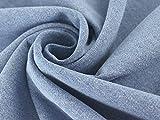 Hosen-Jeansstoff hellblau, Meterware ab 0,5 m /