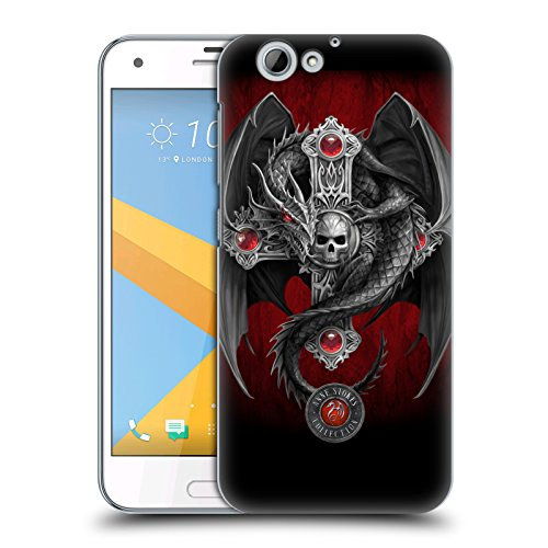 Official Anne Stokes Gothic Dragon Tribal Hard Back Case for HTC One A9s