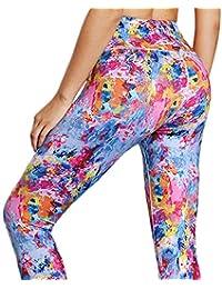 071fab4a46881 GYFY Deportes Europeos y Americanos Jogging Pantalones Color Tie-dyed  Impreso elástico Ancho cinturón Apretado