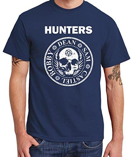 -- HUNTERS -- Boys T-Shirt Navy