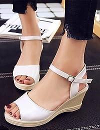 b57765662868ed ShangYi Sandaletten für Damen Damenschuhe-Sandalen-Büro   Kleid   Lässig-Glanz