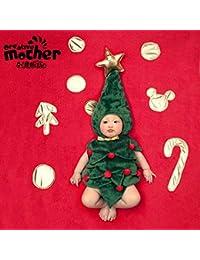 Househome Ropa Para Bebés, Ropa Para Bebés, Adecuada Para Bebés De 100 Días, Forma De Árbol De Navidad