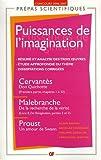 Les puissances de l'imagination : Cervantès, Malebranche, Proust