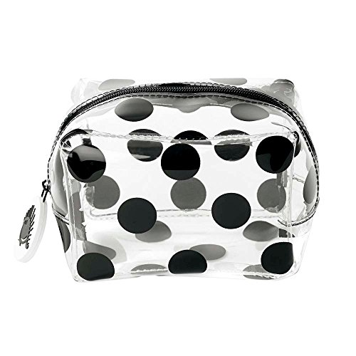 Multi bag S PVC big black dot 11x7,5x7cm (Dot Big Multi)
