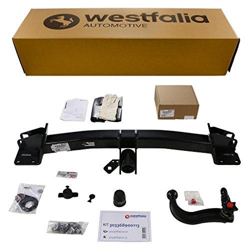 Abnehmbare Westfalia Anhängerkupplung für X5 F15 (ab BJ 11/2013), X6 F16 (ab BJ 12/2014) im Set mit 13-poligem fahrzeugspezifischen Westfalia Elektrosatz (X5 Anhängerkupplung)