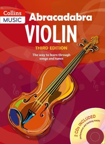 Abracadabra Violin: The Way To Learn Through Songs And Tunes, 3rd Edition por Peter Davey