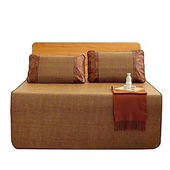 Matelas Tapis de Sol en Bambou de Refroidissement Tapis de Sol Lisse (Taille : 120 * 190cm)