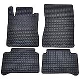 AME - Auto-Gummimatten Fußmatten, Geruch-vermindert und Passgenau mit Anti-Rutsch-Oberfläche 0780et