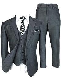 7a9cd39ef683f Costumes Garçons Design Italien Ensemble Complet de 5 ou 6 pièces ...
