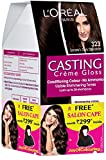 #7: L'Oreal Paris Casting Creme Gloss Hair Color, 3.23 Dark Chocolate, 159.5g with Free Salon Cape (Worth Rupees 299)