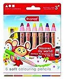BRUYNZEEL - 1405022 - Crayon De Couleur - 6 Pièces