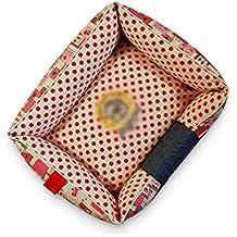 Cama de perro pequeña y Lavable, Funda extraíble, cómodo cojín Interior, Cama para