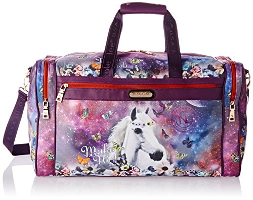 nicole-lee-jamie-22-inch-carry-on-duffel-bag-with-shoulder-strap-unicorn-one-size