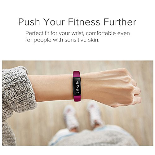 Fitness Tracker, Tonbux Upgraded Smart Watch Wristband Heart Rate Monitor, Blood Press Monitor, OLED Pedometer Bluetooth 4.0 for Outdoor Running Walking For iOS Android Smart Phone (V7 Purple)