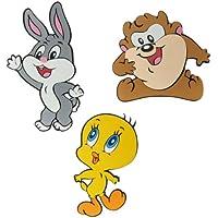 Joy Toy Looney Tunes 000851 - Decorazione per Parete, 3 Pezzi