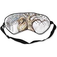 Eye Mask Eyeshade Lion with Tree Sleep Mask Blindfold Eyepatch Adjustable Head Strap preisvergleich bei billige-tabletten.eu