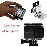Galleria fotografica Meijunter Diving 45M Waterproof Case with Touch Screen Housing For Xiaomi Yi 2 4K Camera