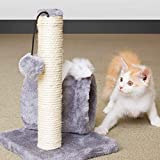 Famous Brands Kitten Scratching Post Play Area Soft Durable and Eco Friendly With Hiding Spot and Plush Toy Soft Material