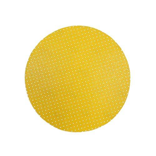 25 perforierte MENZER Klett-Schleifscheiben für Trockenbauschleifer Ø 225 mm - Korn 80