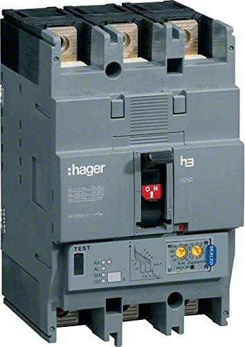 HAGER H250 - INTERRUPTOR AUTOMATICO H250 4P4D 70KA 40A LSI