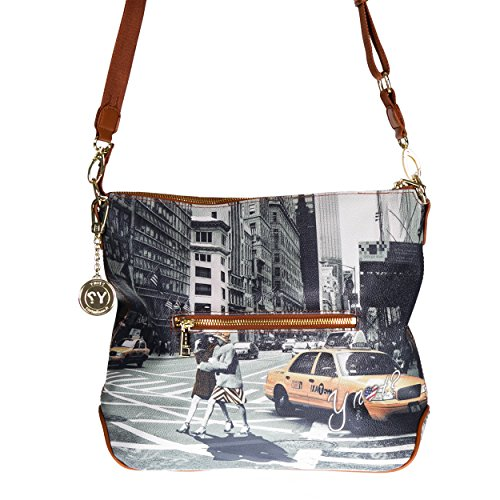 Y NOT? - Borsa donna con tracolla g-391 new york walk in n.y.