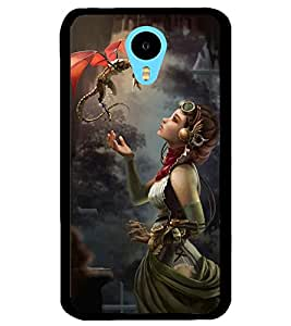 ColourCraft Lovely Friends Design Back Case Cover for MEIZU M1 NOTE
