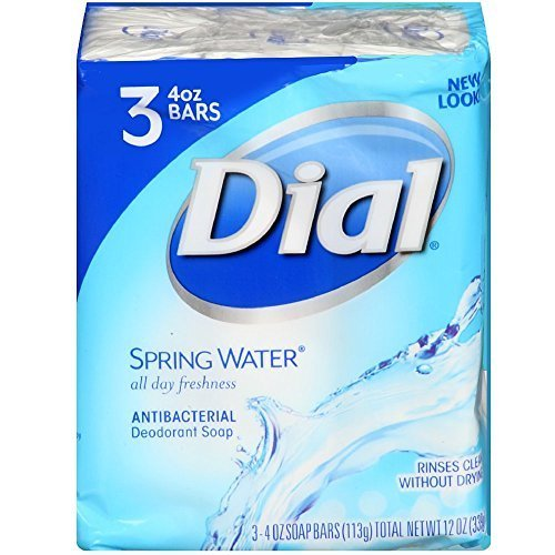 dial-antibacterial-soap-bar-spring-water-3-count-135-ml-pack-of-18