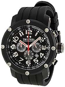 TW Steel Grandeur TECH Herren-Armbanduhr XL Chronograph Silikon TW-135