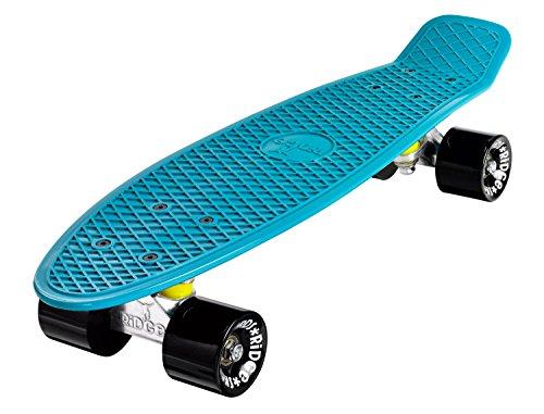 Ridge Skateboards Organics Range Skateboard, Teal, 22