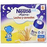 Nestlé - Leche y Cereales Pijama - Paquete de 2 x 250 ml - Total: 500 ml - [Pack de 6]